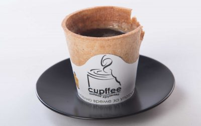 Blog post – Edible Coffee Cups: a cute novelty but unlikely to make a real dent in our disposable habits