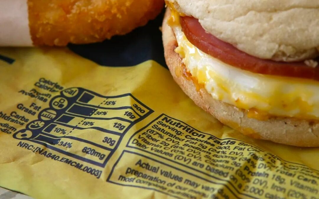 How rolling back calorie labelling may impact public health