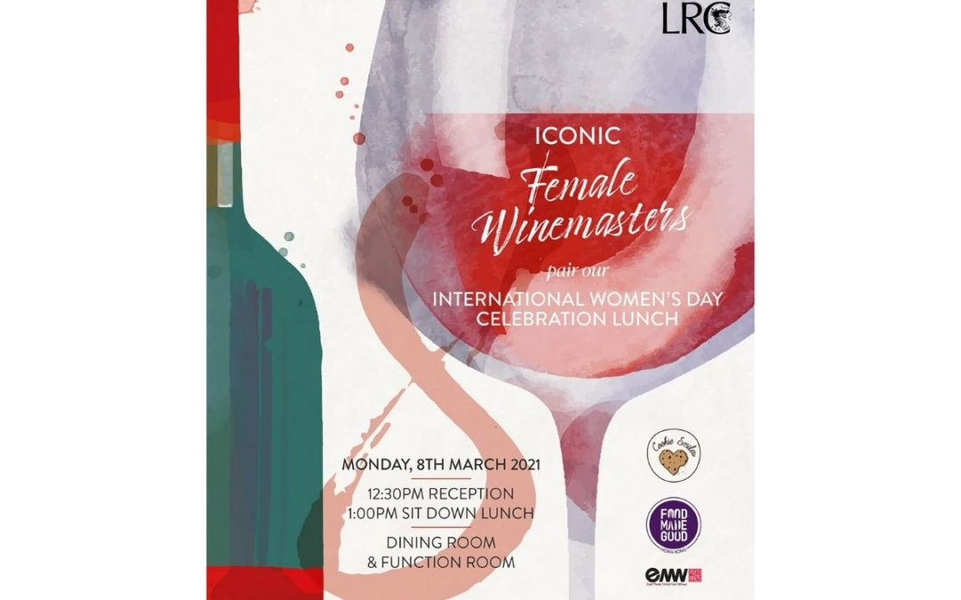 Celebrating Sustainable Wines and Female Entrepreneurs on International Women's Day at the Ladies' Recreation Club
