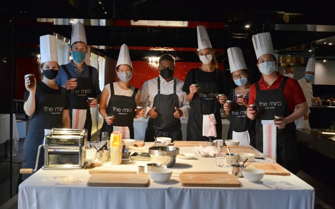 Cooking classes with Chef Sheldon at The Mira Hotel