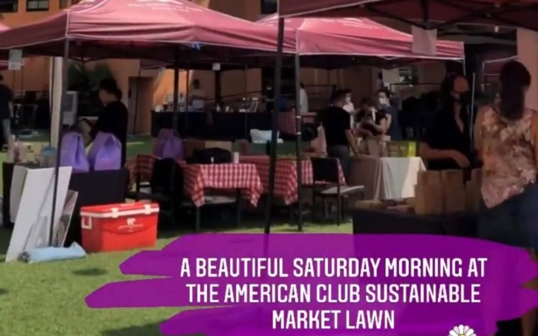 Sustainability South Lawn Market Series: The American Club Hong Kong